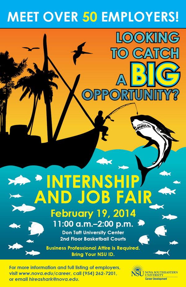 internship and job fair 2014