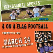 Intramural Sport--4 on 4 flag football