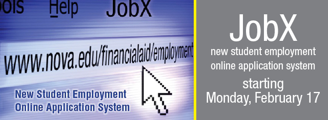 JobX--new student employement online application system