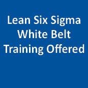 Lean Six Sigma White Belt Training