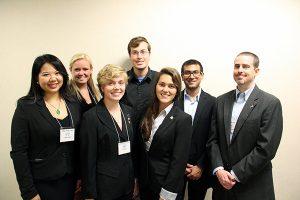 of NSU's Model UN Team