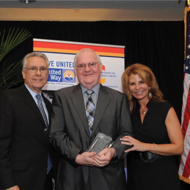 Doug Hughes, Jim Hall, and Kathleen Cannon