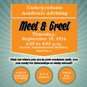 Academic Advising Meet and Greet