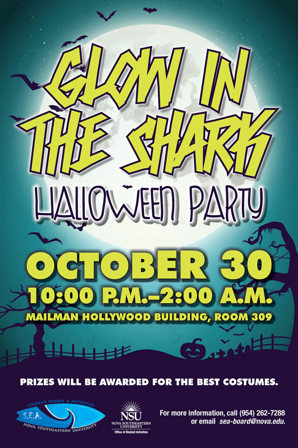 Glow in the Shark Party