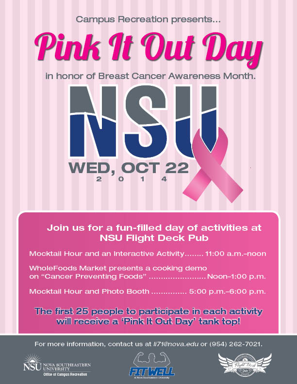 Pink It Out Day 2014