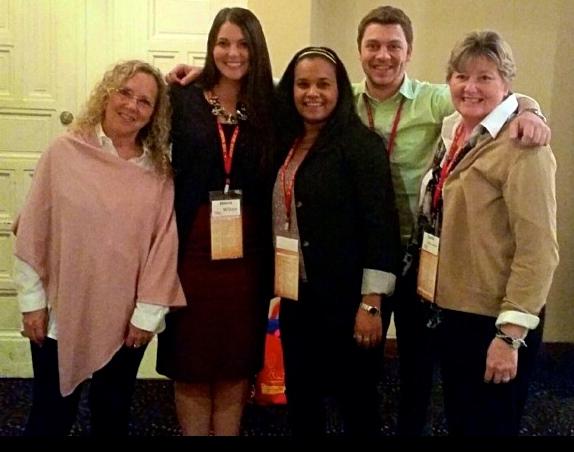 Dr. Gordon, Jenna Wilson, Samira Garcia, Michael Rolleston and Dr. Messmore