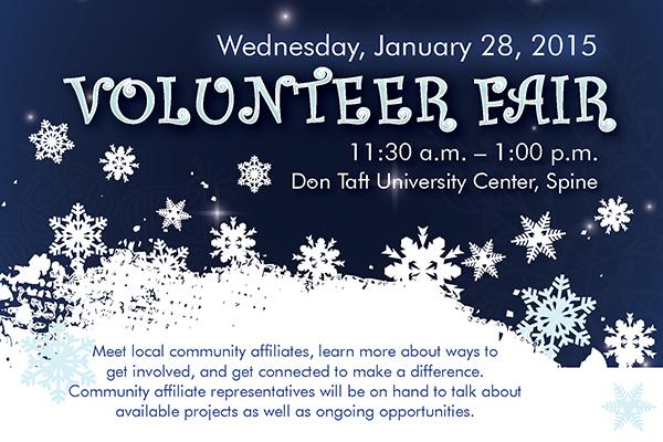2015 Winter Volunteer Fair