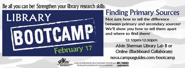 Library Bootcamp