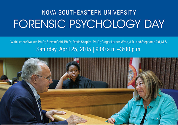 Forensic Psychology Day -2