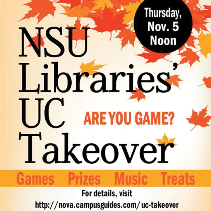 NSU Libraries SEA Thursday