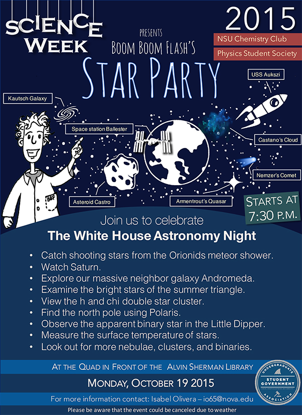 Boom Boom Flash Star Party