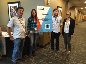 Pictured (L to R) – Jose Lopez, Ph.D., Jorie Skutas, Cole Easson, Lauren O'Connell