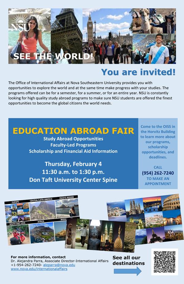 11x17 Education Abroad Fair Invite-poster Jan 2016