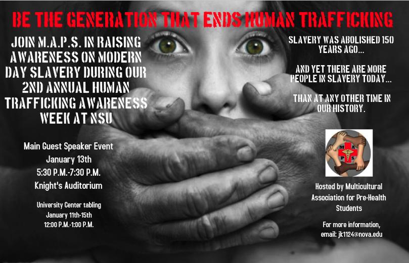 Human Trafficking event 2016