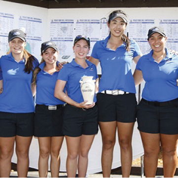 NSU Women's Golf Team