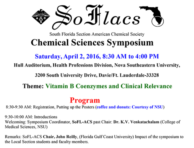 Chemical Sciences Symposium