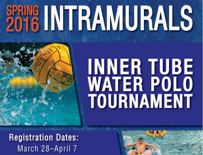 Intramural Inner Tube Water Polo Tournament
