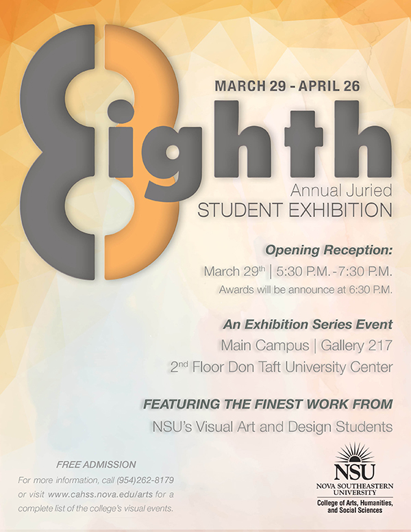 8th Annual Juried Student Exhibition