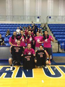 2016 Intramural Basketball Championship Winners