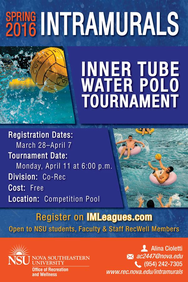 Intramural Inner Tube Water Polo Tournament