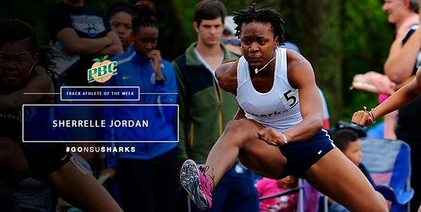 Peach Belt Conference Track Athlete of the Week