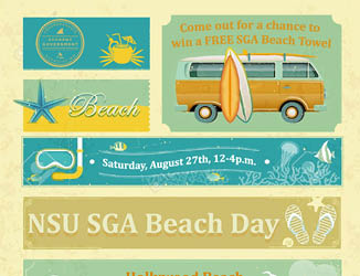 NSU SGA Beach Day