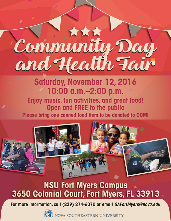 Community-Day-and-Health-Fair-2016, Fort Myers