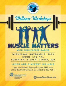 November Wellness Workshop