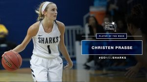 Christen Prasse athletics basketball
