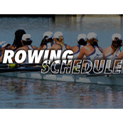 Rowing Schedule Spring 2017