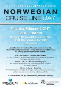 Career Norwegian cruise line day