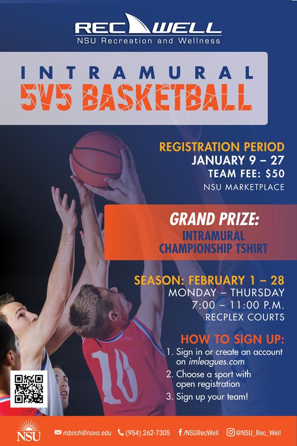 RecWell 5v5 Basketball