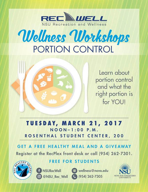 RecWell March Wellness Workshop