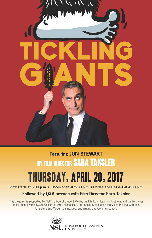600px Film Screening Tickling Giants POSTER