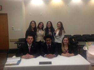 Mock Trial Team 2017