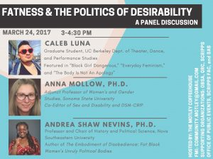 Andrea Shaw Nevins, Ph.D. panelist at Scripps College