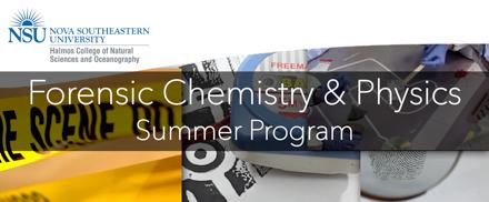 Foresenic Chem Physics Summer Program graphic