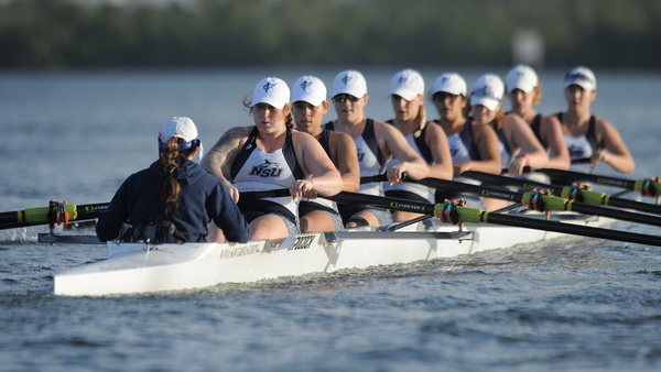 NSU rowing team