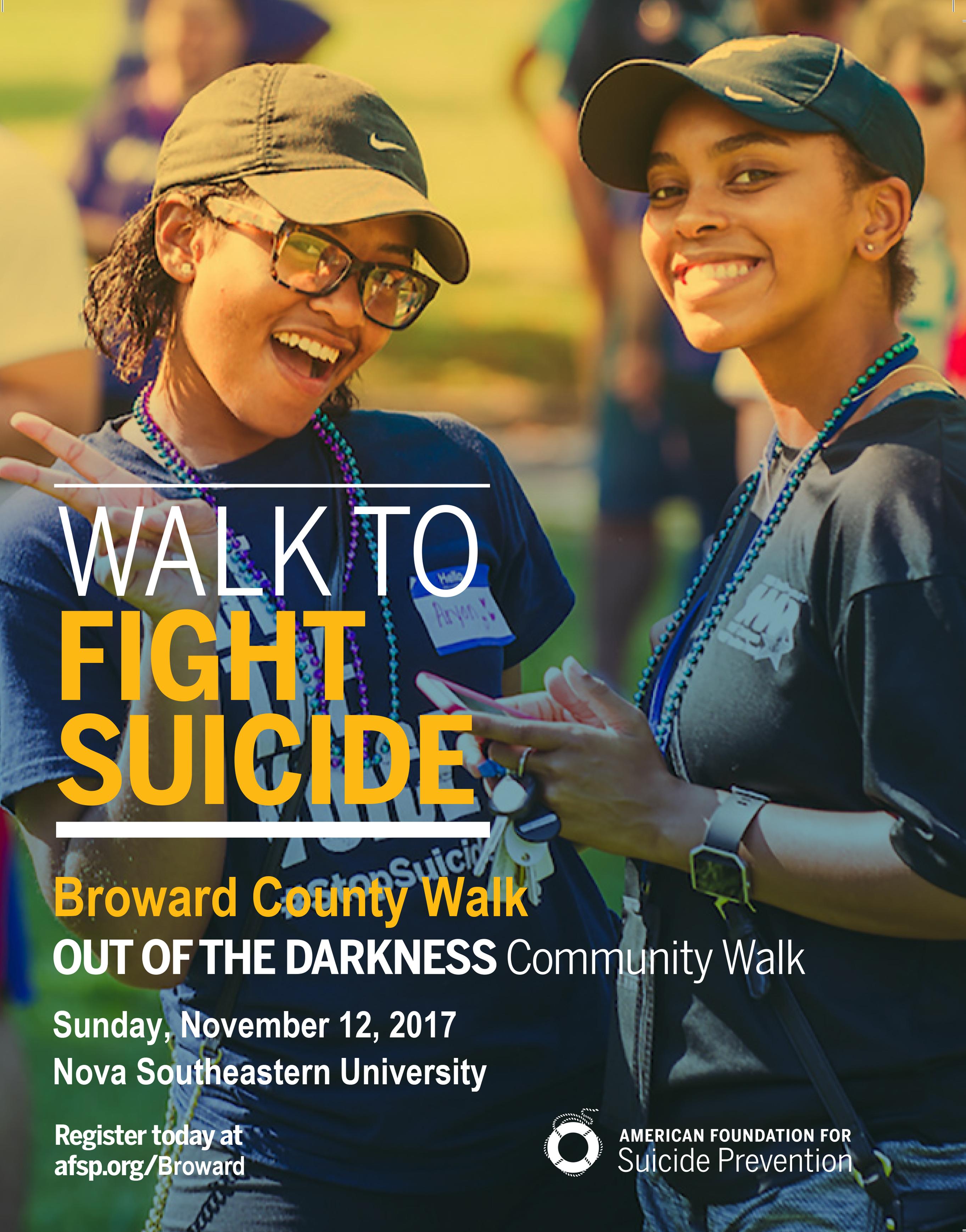 Broward County Walk Flyer 2