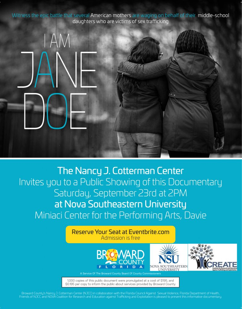 I am jane doe NSU and Create