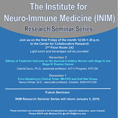 INIM Seminar November 2017