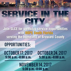 Service in the City Fall 2017