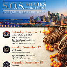 Sharks on the Scene November 2017