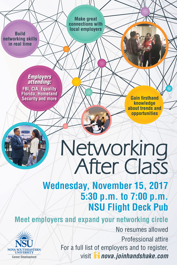 Networking After Class November 2017