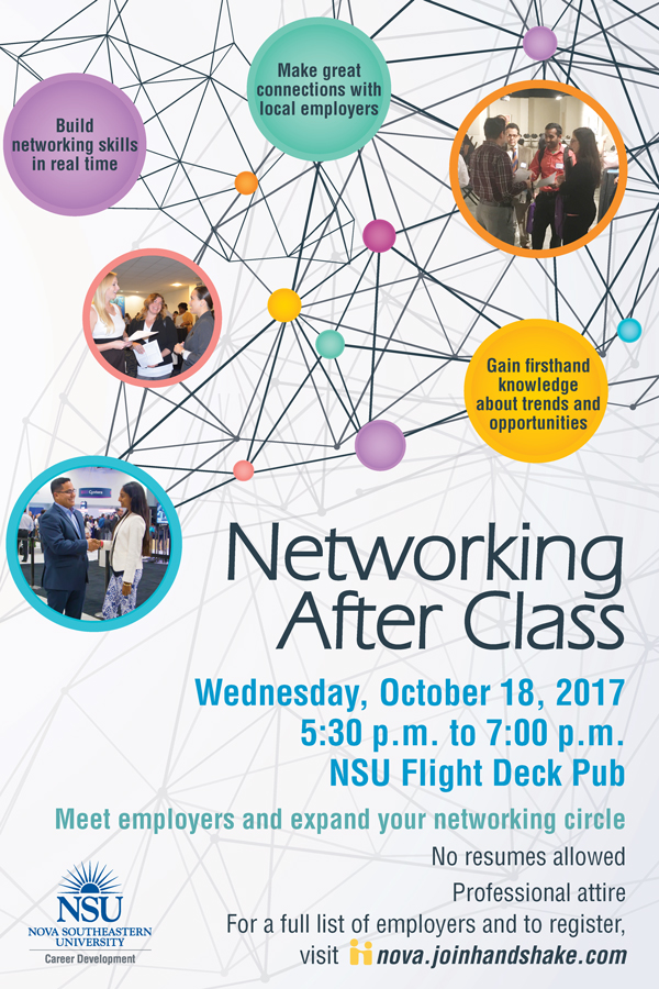 Networking after Class