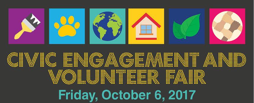Volunteer Fair Fall 2017
