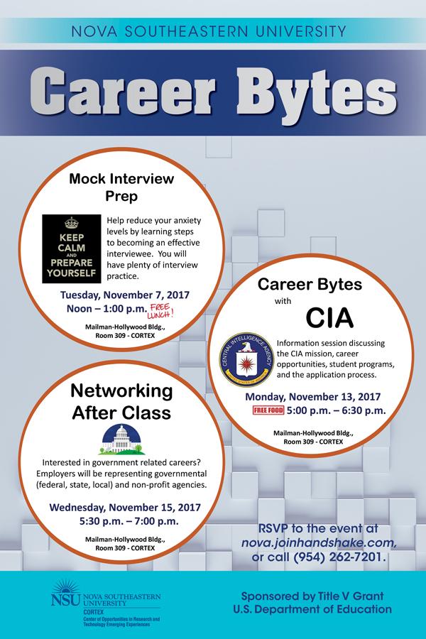 Career Bytes November 2017
