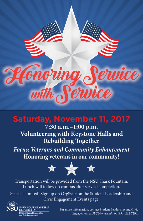 Honoring Service with Service
