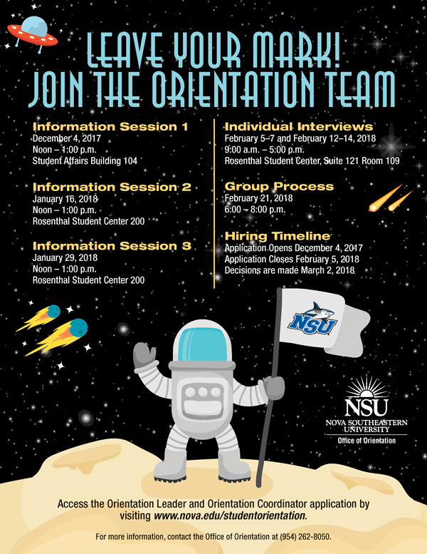 Orientation Leader Recruitment