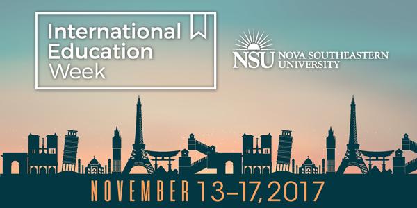International Education Week 2017